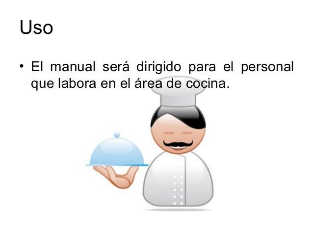 Procedimientos de cocina industrial manual de for Manual de cocina industrial
