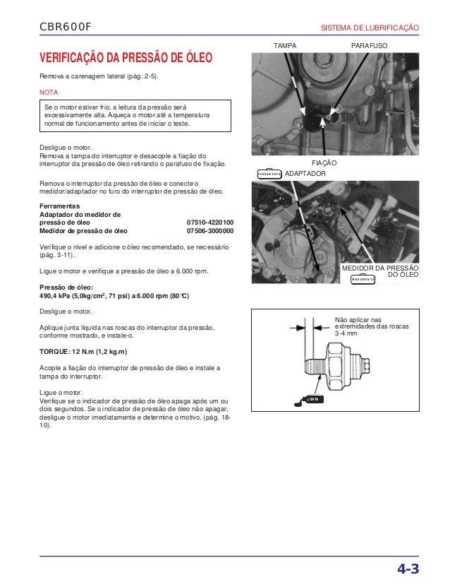 Manual de serviço cbr600 f(1) (~1997) lubrific