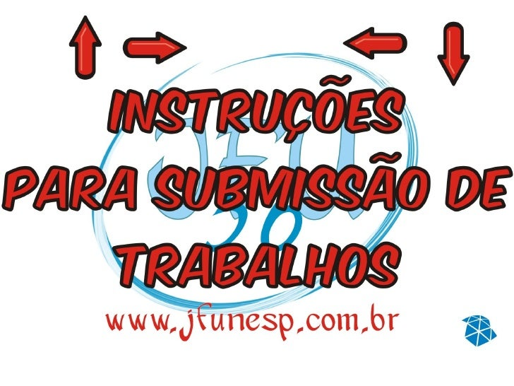 Manual De SubmissãO CientíFico