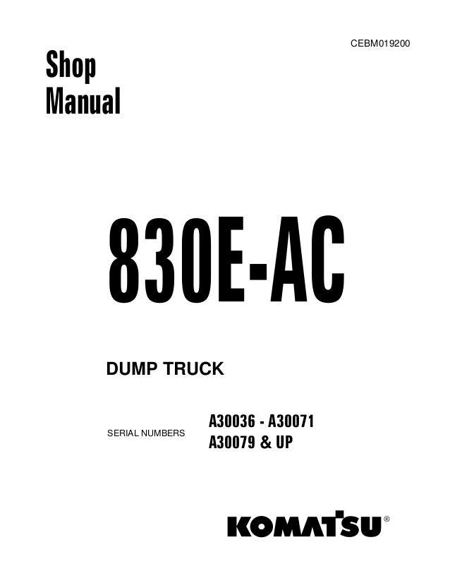 manual de taller 830 e ac ingles. Black Bedroom Furniture Sets. Home Design Ideas