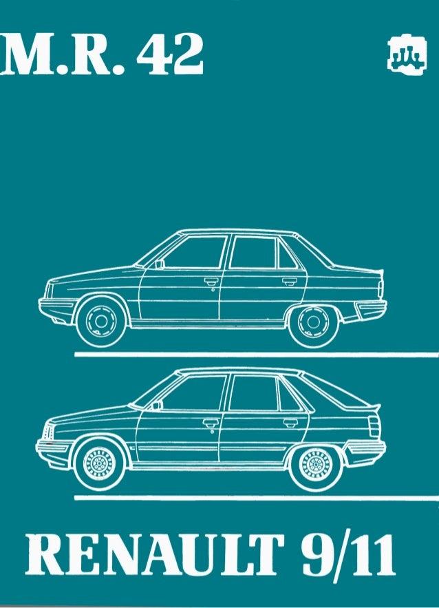 Manual de Taller de Renault 9