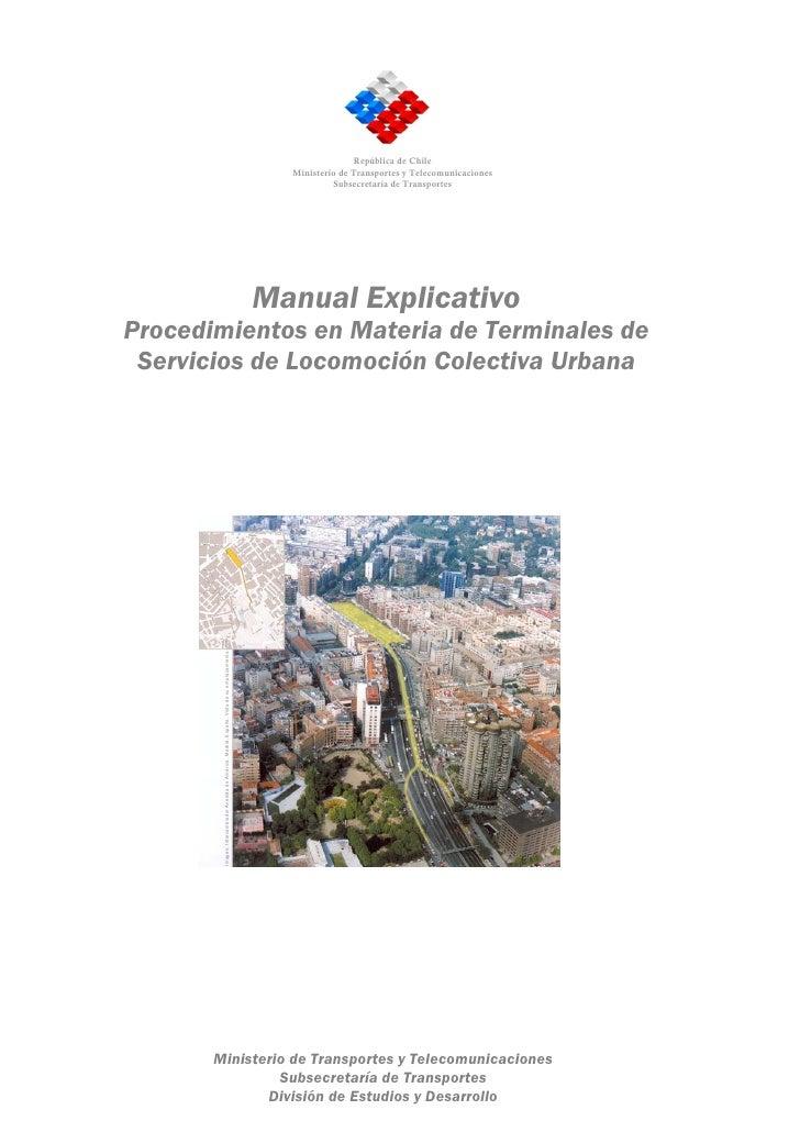 Manual de terminales urbanos final 26.04.05