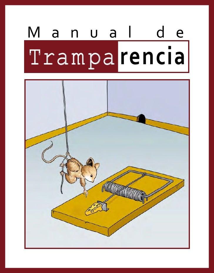 Manual De  Tramparencia