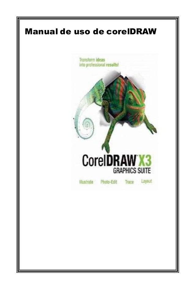 Manual de uso de corelDRAW