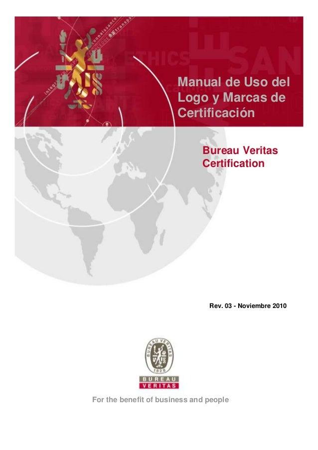 Manual de Uso del                       Logo y Marcas de                       Certificación                              ...