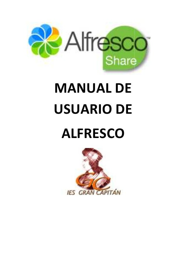 MANUAL DEUSUARIO DEALFRESCO