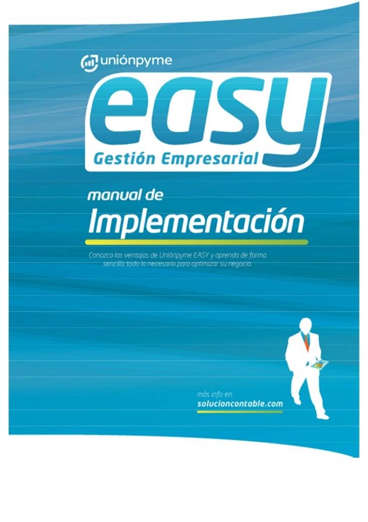 0   Manual de Implementación