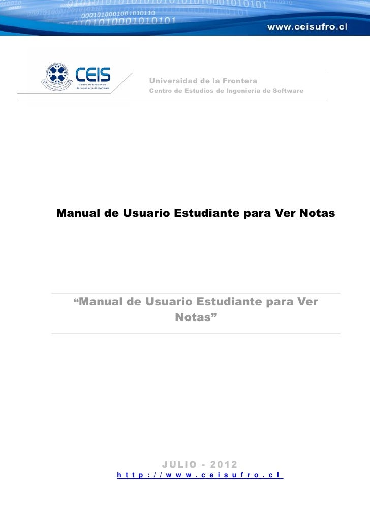 Manual de usuario estudiante  ver notas