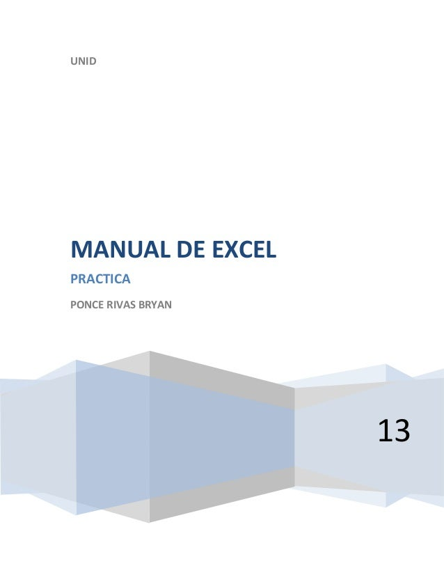 Manual de word excel.