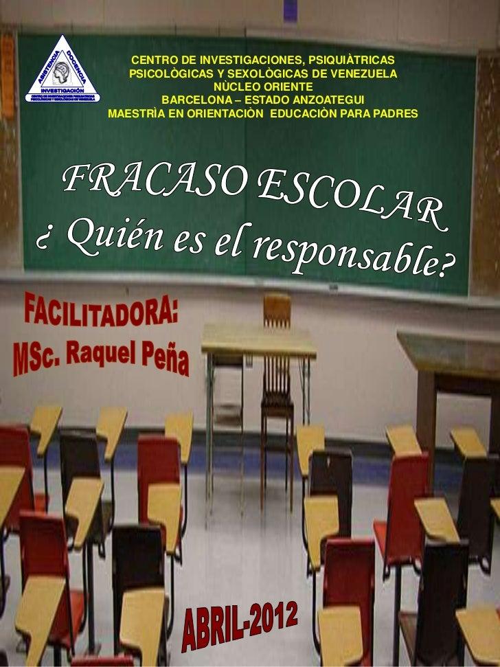 CENTRO DE INVESTIGACIONES, PSIQUIÀTRICAS                                             PSICOLÒGICAS Y SEXOLÒGICAS DE VENEZUE...