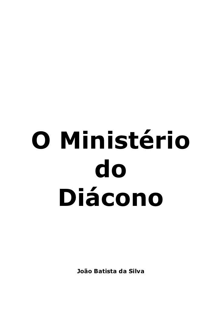 Manual do diacono