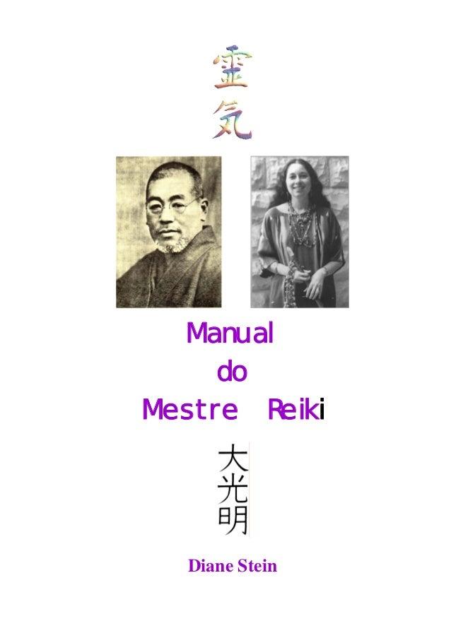 Manual do mestre reiki   diane stein