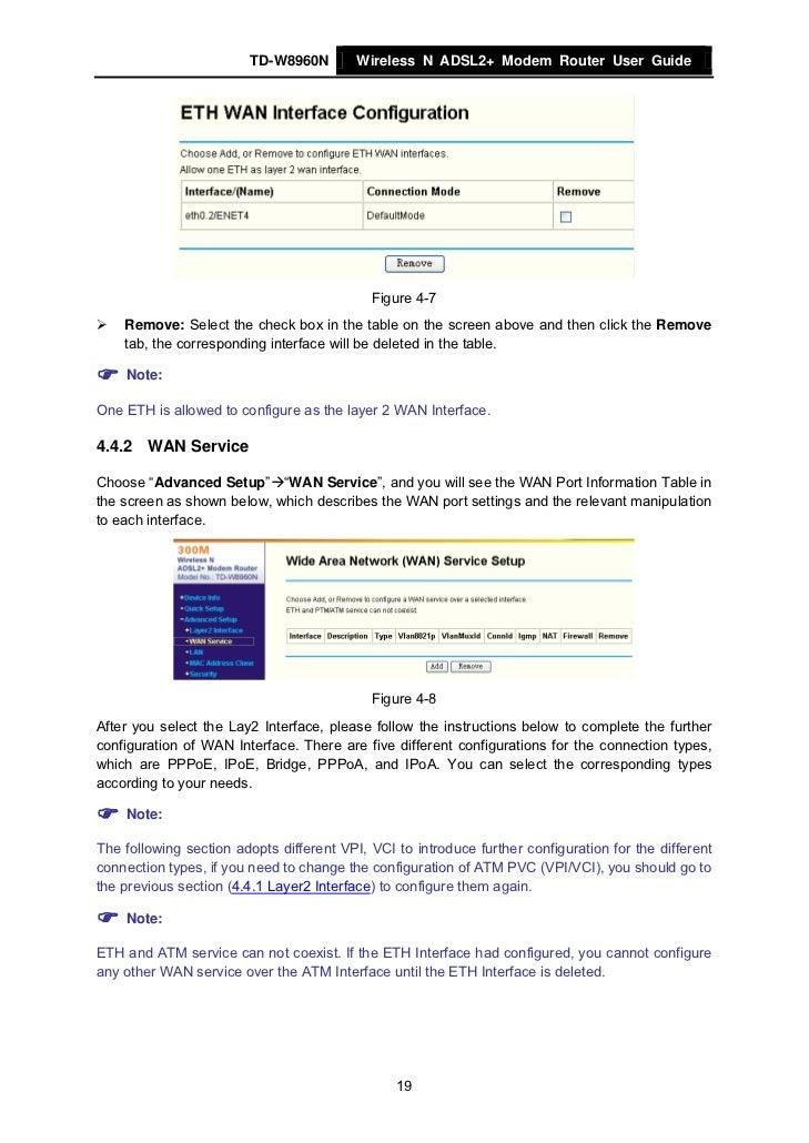 tp link td w8960n manual pdf