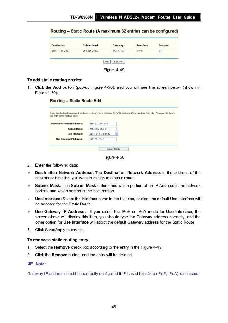 tp link td 8620t manual