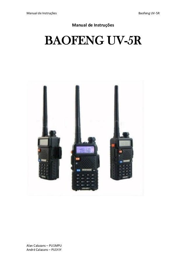 baofeng uv 5r manual for dummies