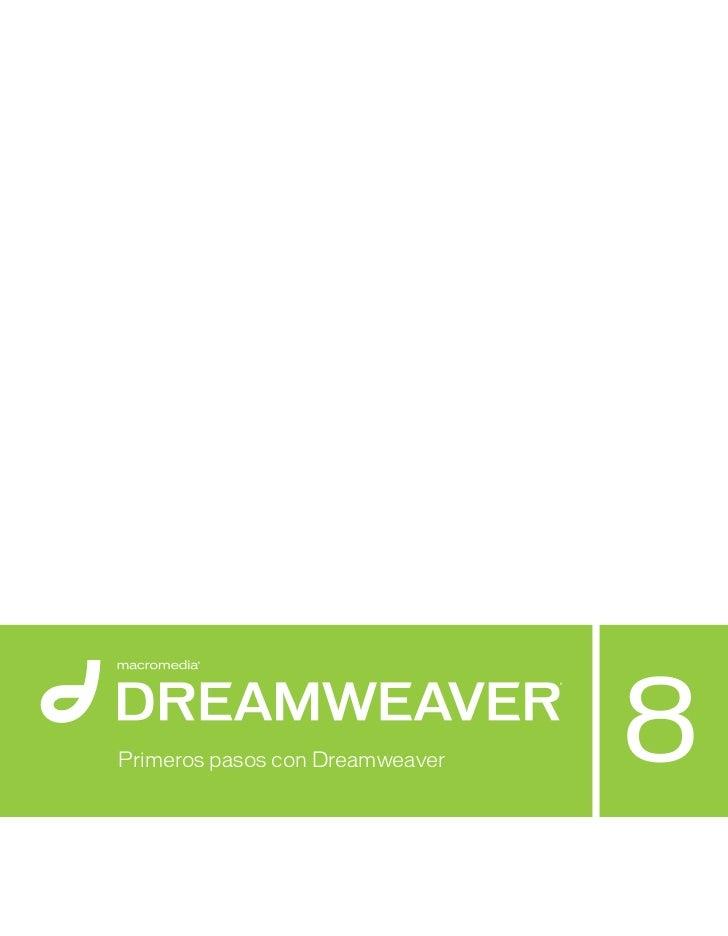 Manual dreamweaver 8 spanish
