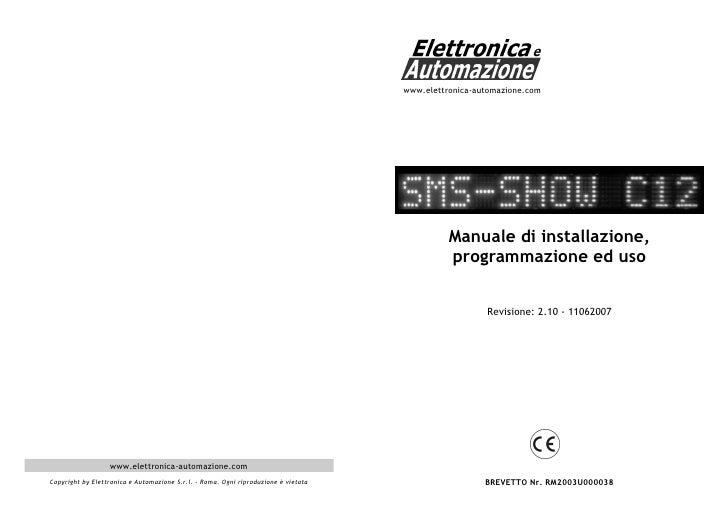 www.elettronica-automazione.com                                                                                           ...