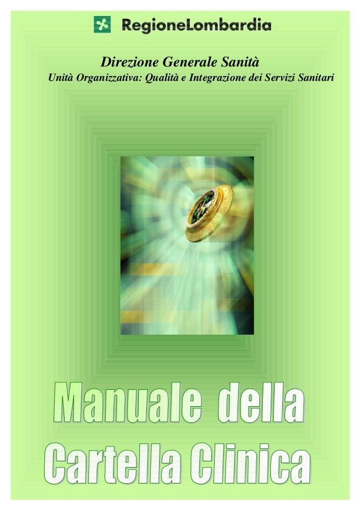 Manuale della cartella clinica