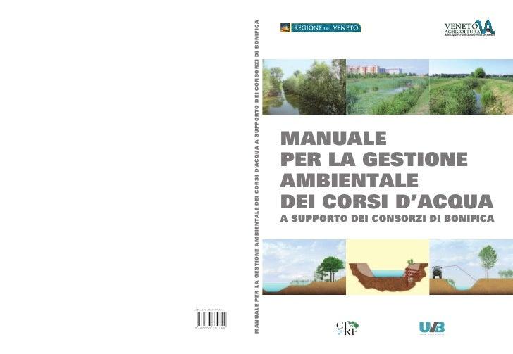Manuale Gestione Acque Veneto 2011