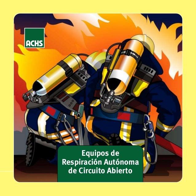 equipo de respiracion autonomo: