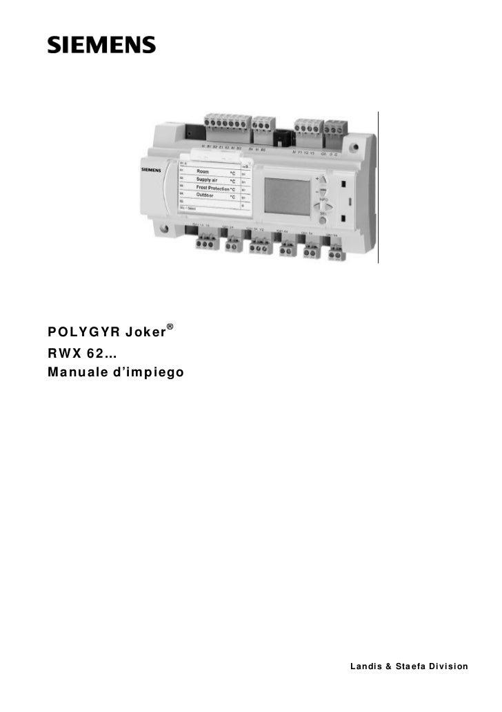 Manuale rwx62
