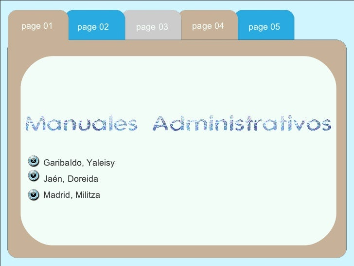 page 04 page 02 page 01 page 03 page 05 Garibaldo, Yaleisy  Jaén, Doreida Madrid, Militza