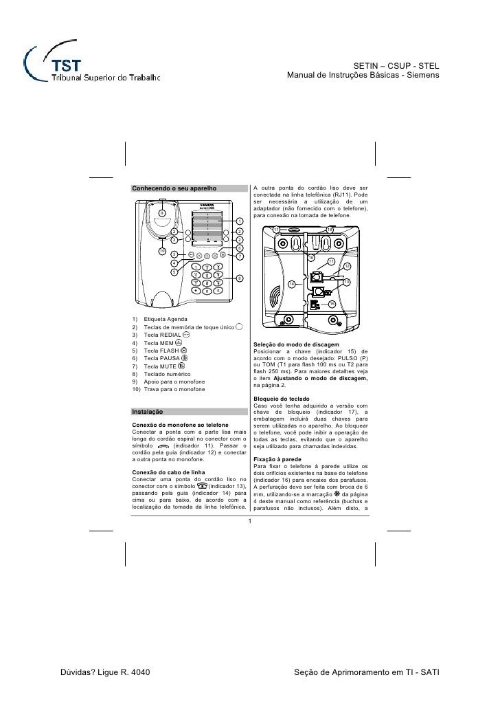 euroset manual