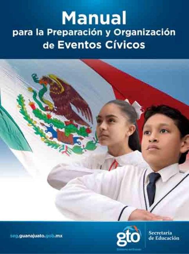 Manual eventos cívicos