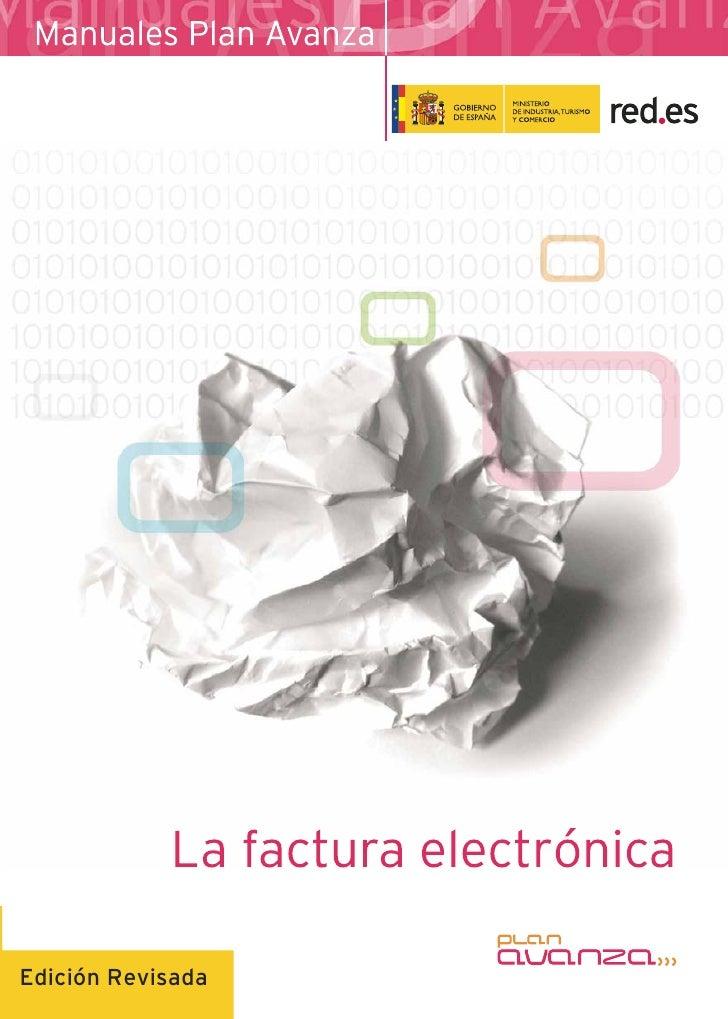 La Facturación Electrónica - Plan Avanza
