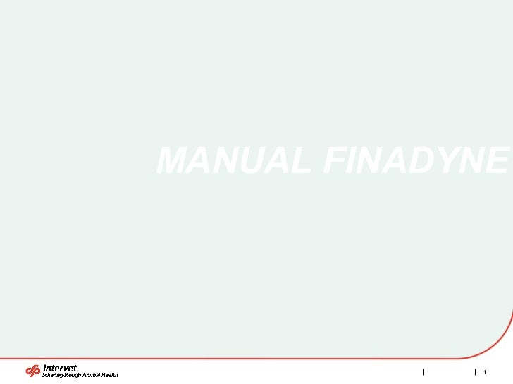 MANUAL FINADYNE
