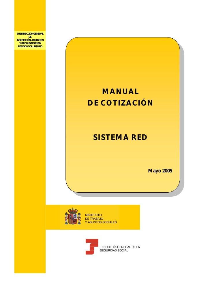 Manual formacion cotizacion