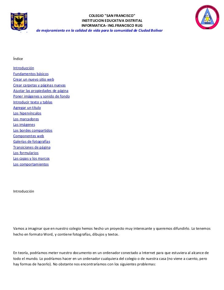Manual fronpage1 parte