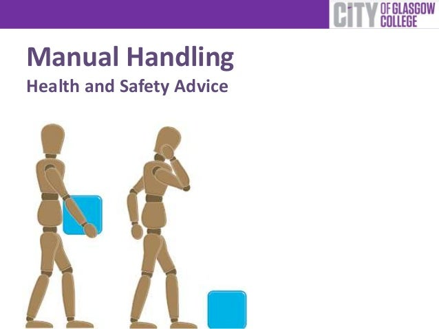 Manual Handling Health and Safety Advice