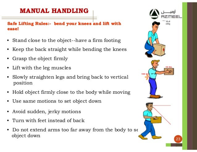 manual hanling