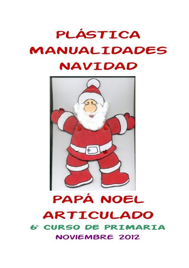 Manualidades navidad pap noel novi2012 comprimido - Papa noel manualidades ...