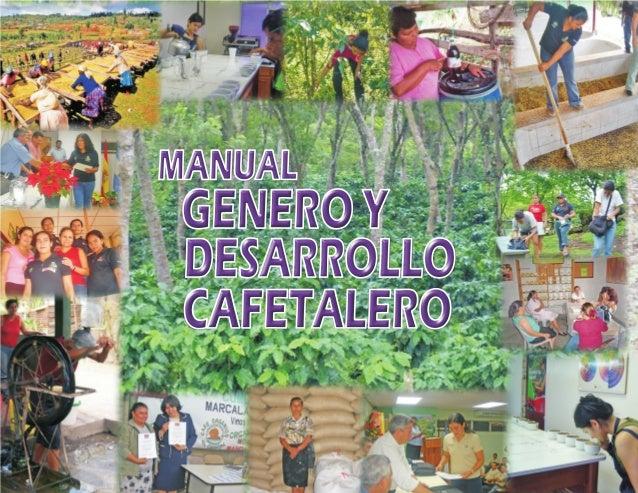 MANUAL  GENERO Y DESARROLLO CAFETALERO