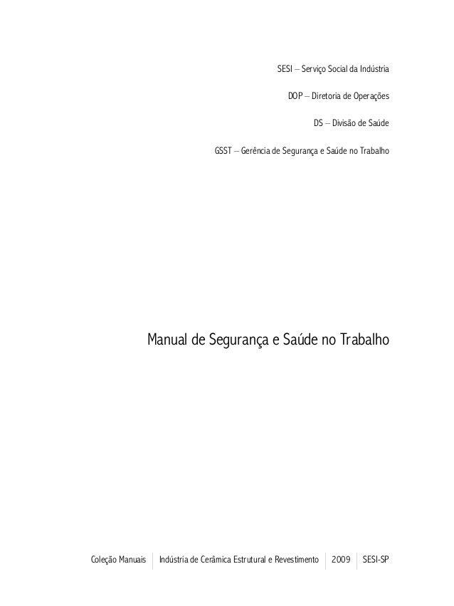 Manual industriaceramica sesi