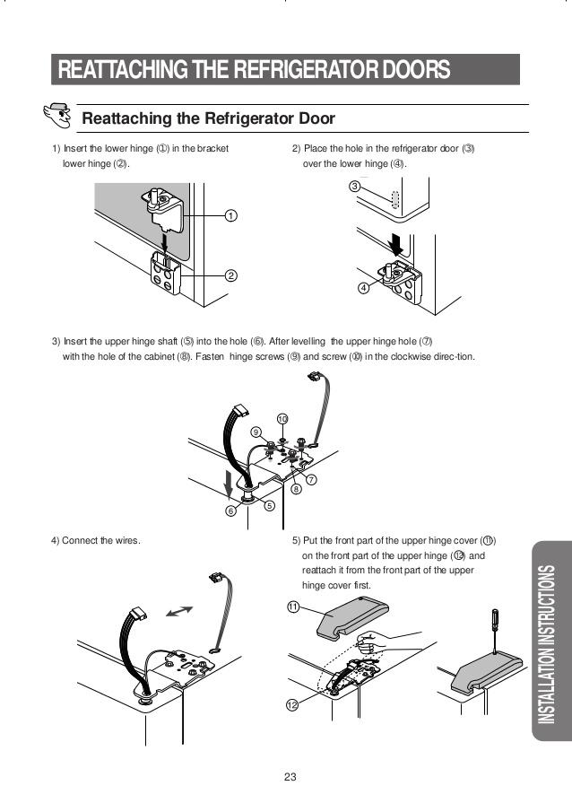 frigidaire 2 23 model manual