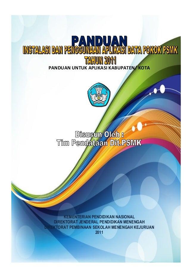 Manual instalasi aplikasi_dapok_untuk_propinsi&kab_kota
