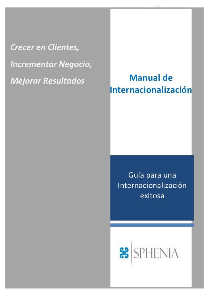 Manual internacionalización