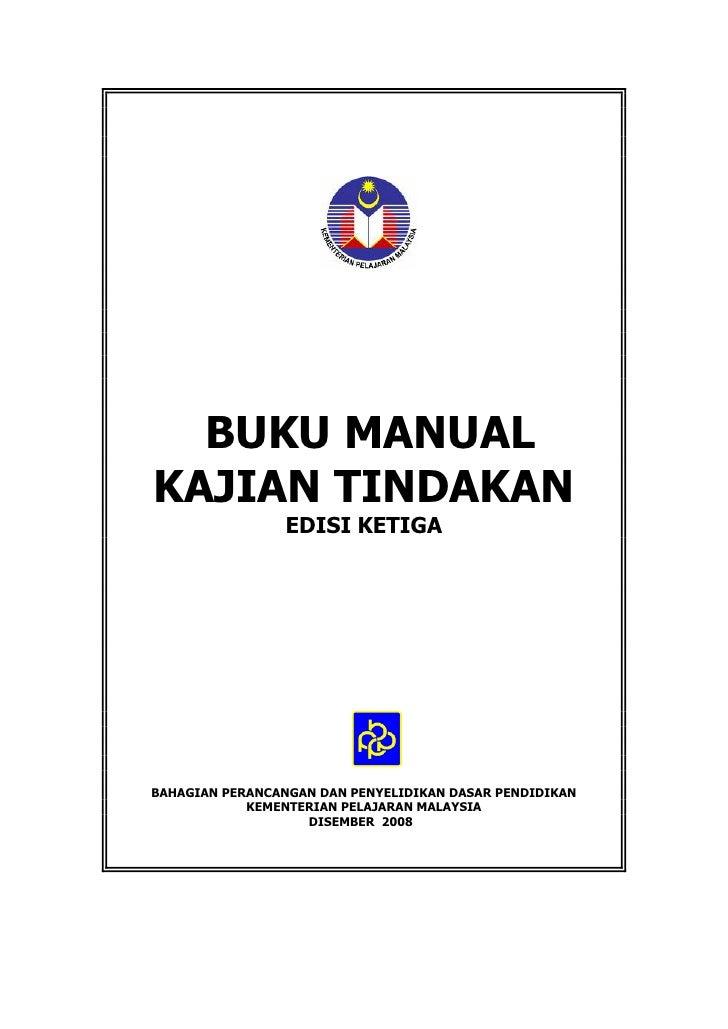 Manual kajian tindakan edisi 2008
