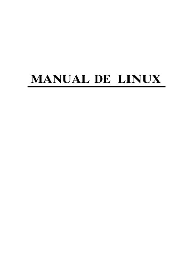 MANUAL DE LINUX