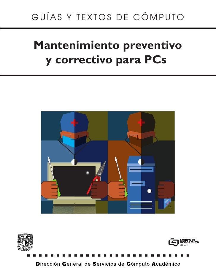 Manual mantenimientopc