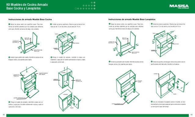 Manual masisa for Manual de carpinteria muebles pdf