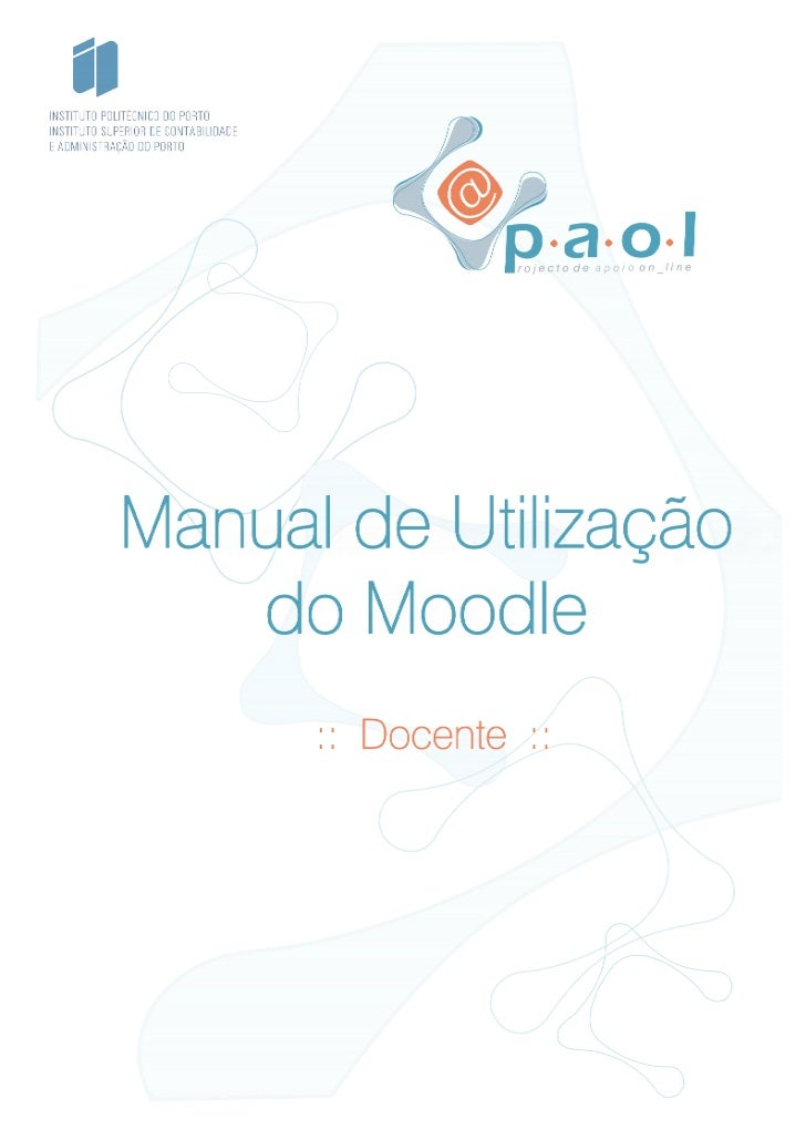 Manual moodle docente_iscap