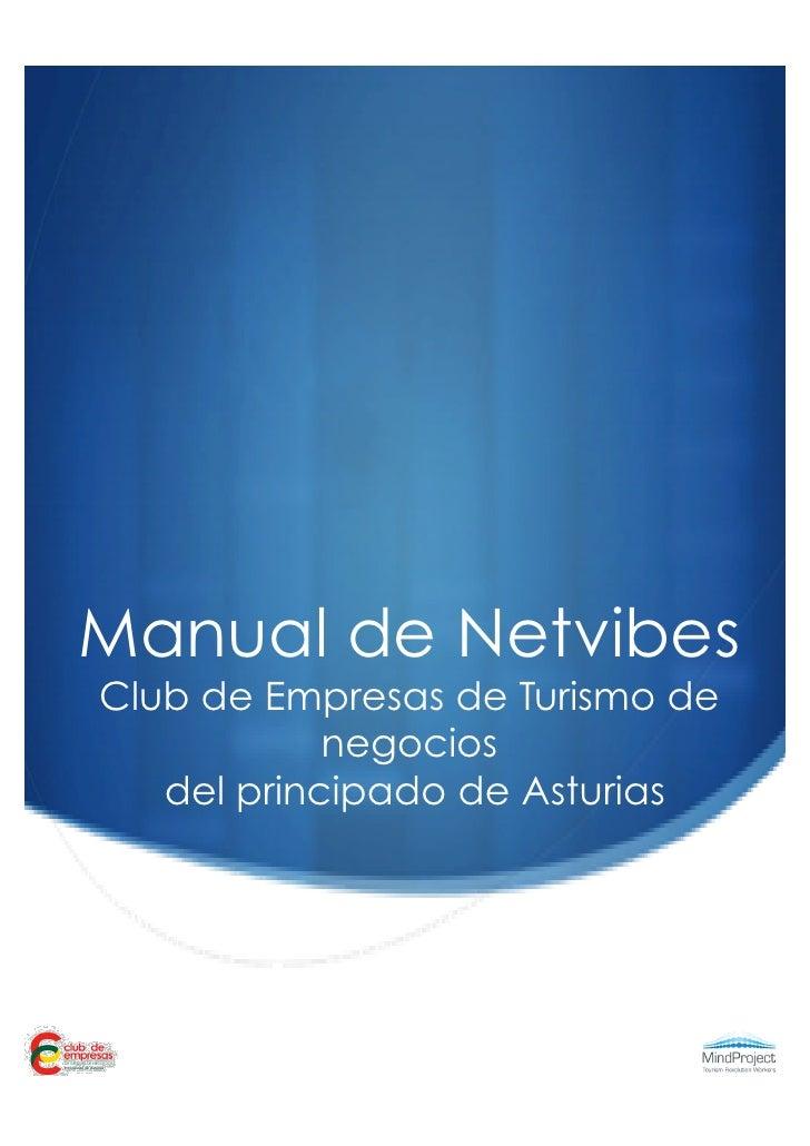Manual de uso de Netvibes