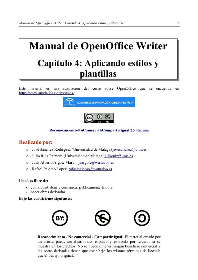 Manual oo writer_cap4