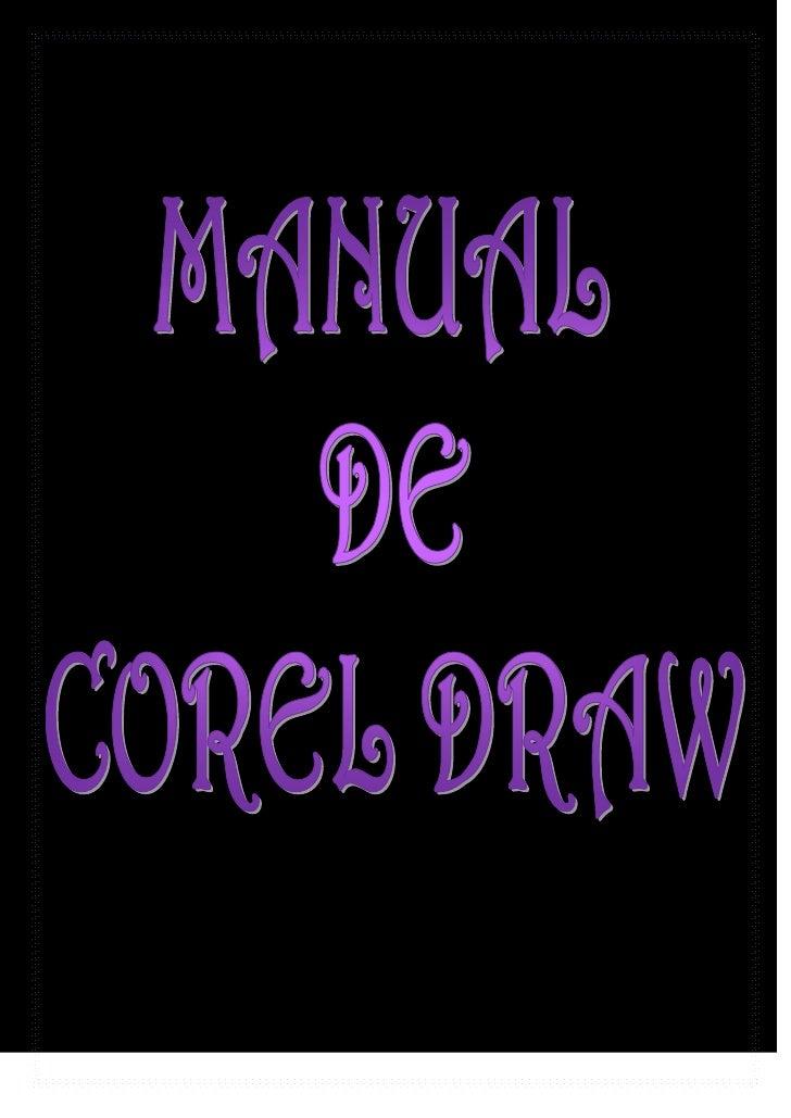 Manual Original De Corel Draw Ma. Luisa - Edith