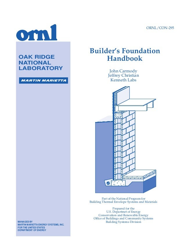 BUILDERS FOUNDATION BOOK