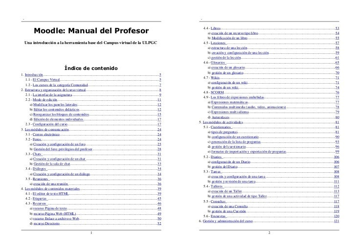 Manual para el profesor virtual